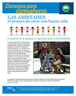 Cover Image of Friendships Building a Good Life newsletter, click for PDF in spanish