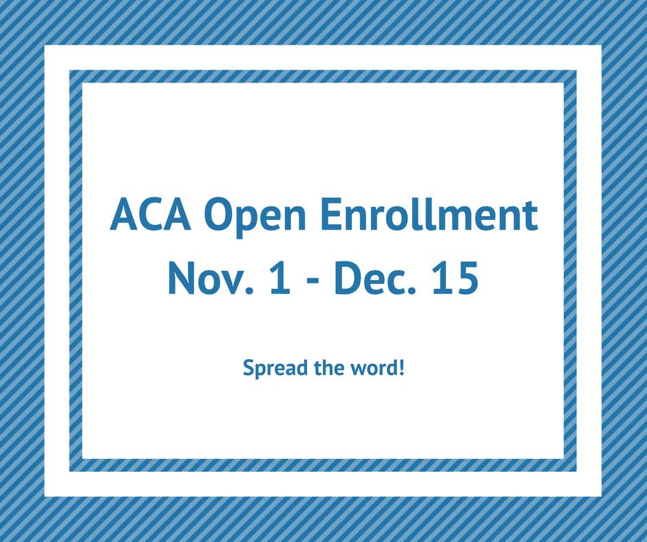 ACA Open Enrollment Date Image