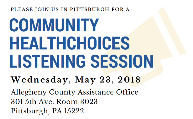 Community Healthchoices Listening Session Peal Center