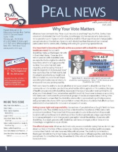 PEAL Fall 2016 Newsletter Page 1