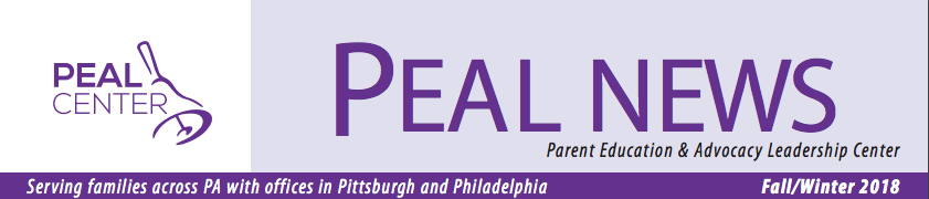 PEAL News Fall/Winter 2018