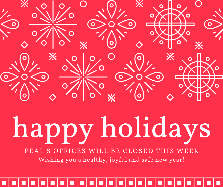 Happy Holidays from PEAL