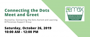 Connecting the Dots Meet and Greet